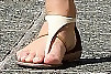 Julianne Hough Flat Sandals