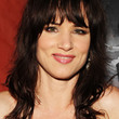 Juliette Lewis Hair - Medium Wavy Cut with Bangs