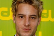 Justin Hartley Spiked Hair
