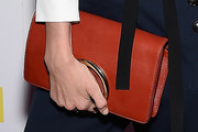 Dree Hemingway Leather Clutch