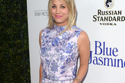 Kaley Cuoco Gets Matchy Matchy in Purple!