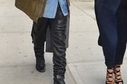 Kanye West Leather Pants