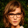 Karlie Kloss Hair - Short cut with bangs