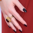 Kat Dennings Beauty - Dark Nail Polish