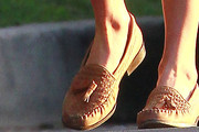 Kate Bosworth Tassel Loafers