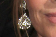 Kate Capshaw Dangling Diamond Earrings