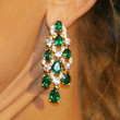 Kate Hudson Jewelry - Gemstone Chandelier Earrings