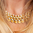 Kate Hudson Jewelry - Gold Choker Necklace