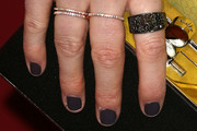 Kate Mara Dark Nail Polish