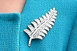 Kate Middleton Sterling Brooch
