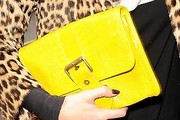Kate Moss Buckled Clutch