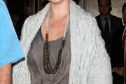 Katherine Heigl Multi Beaded Necklace