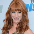 Kathy Griffin Hair - Long Wavy Cut with Bangs