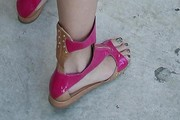 Katy Perry Gladiator sandals