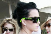 Katy Perry Messy Updo