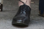 Keira Knightley Flat Oxfords