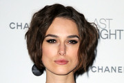 Keira Knightley Short Wavy Cut