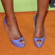 Keke Palmer Shoes - Peep Toe Pumps