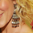Kellie Pickler Jewelry - Gold Chandelier Earrings