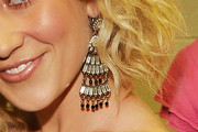 Kellie Pickler Gold Chandelier Earrings