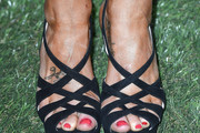 Kellie Pickler Strappy Sandals