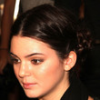 Kendall Jenner Hair - Braided Updo
