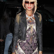Keri Hilson Leather Jacket