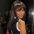 Kerry Washington Long Straight Cut with Bangs