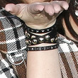 Khloe Kardashian Leather Bracelet