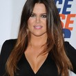 Khloe Kardashian Long Straight Cut
