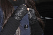 Kim Kardashian Fingerless Gloves