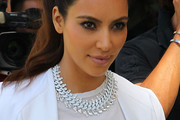 Kim Kardashian Gemstone Collar Necklace