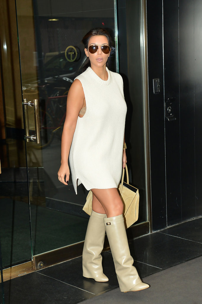 kim kardashian sweater dress kim kardashian looks