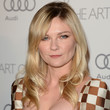 Kirsten Dunst Long Curls with Bangs