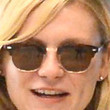 Kirsten Dunst Rectangular Sunglasses