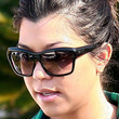 Kourtney Kardashian Cateye Sunglasses