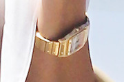 Kourtney Kardashian Gold Bracelet Watch