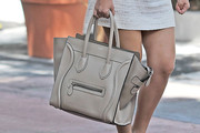 Kourtney Kardashian Leather Tote