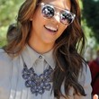 Kourtney Kardashian Jewelry - Silver Statement Necklace