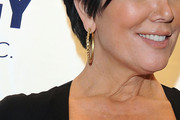 Kris Jenner Gold Hoops