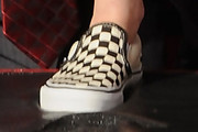 Kristen Stewart Canvas Shoes