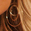 Kristin Chenoweth Jewelry - Gold Hoops