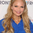Kristin Chenoweth Hair - Half Up Half Down