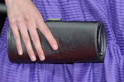 Krysten Ritter Buckled Clutch