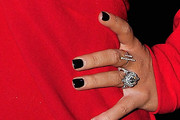 Christina Aguilera Dark Nail Polish
