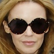 Kylie Minogue Round Sunglasses