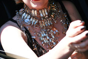 Lady Gaga Gemstone Collar Necklace