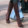 Laeticia Hallyday Knee High Boots