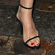 Laetitia Casta Strappy Sandals