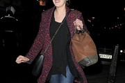 Laura Carmichael Wool Coat